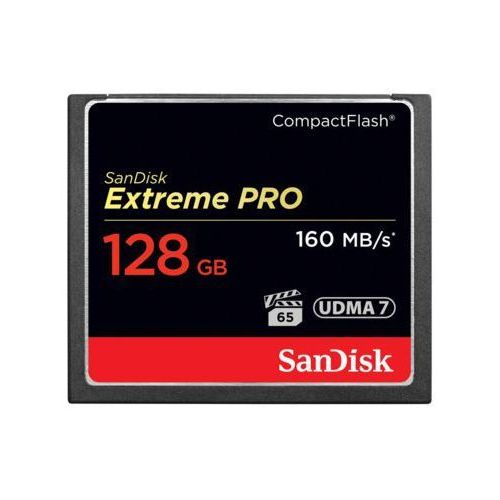 Karta pamięci compact flash extreme pro 128 gb marki Sandisk