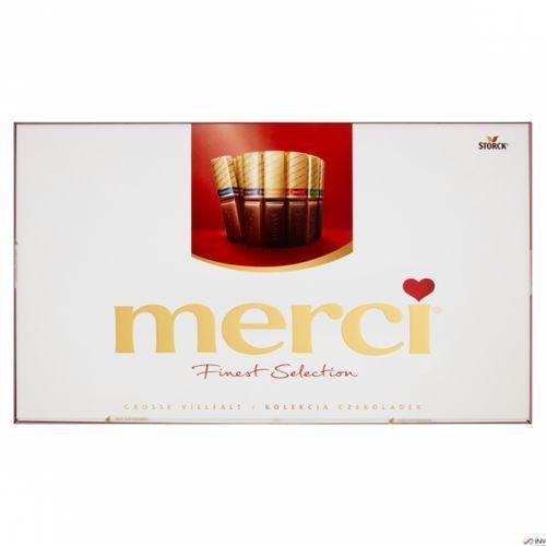 Storck Bombonierka merci finest selection kolekcja czekoladek 400 g (4014400900217)
