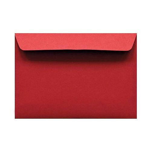 Koperta C6 HK 120g Kreative czerwona x100
