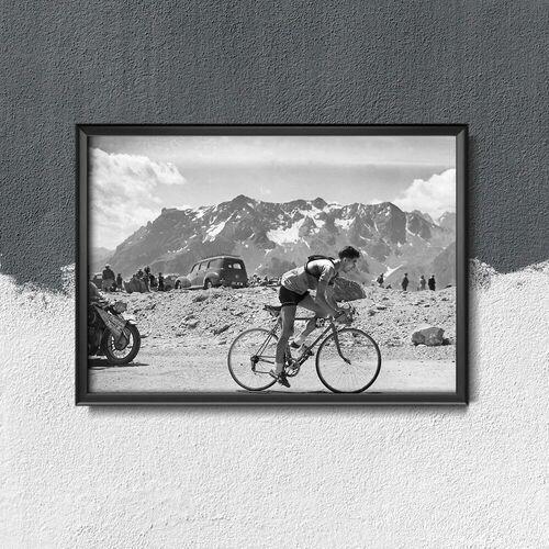 Vintageposteria.pl Plakat do pokoju plakat do pokoju fotografia tour de france frederico bahomontes