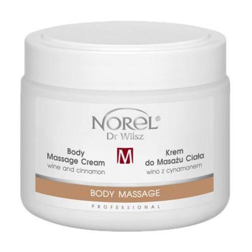 Norel (Dr Wilsz) BODY MASSAGE CREAM WINE AND CINNAMON Krem do masażu ciała wino z cynamonem (PB327), produkt marki NOREL (Dr Wilsz)
