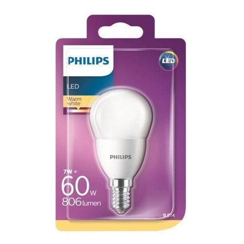 Philips Żarówka led p45 e14 7 w 806 lm barwa ciepła (8718696702895)