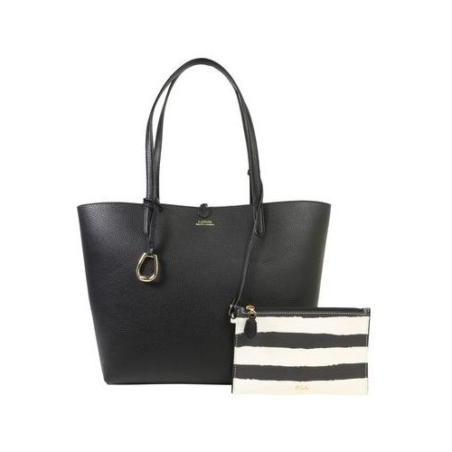 Lauren ralph lauren torba shopper 'rvrsble tote-tote-medium' czarny