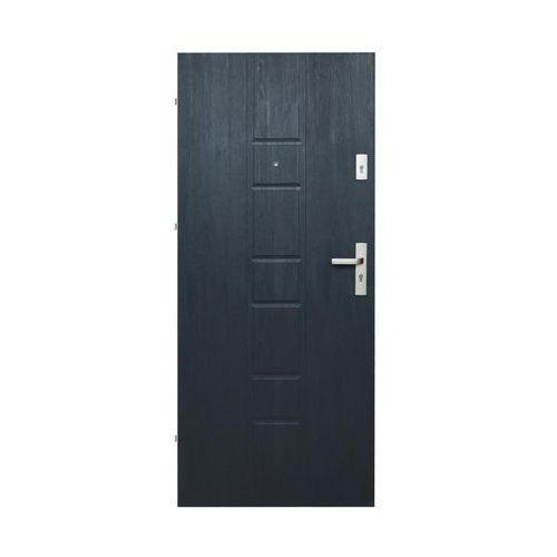Drzwi wejściowe MASTER 04 Grafitowe 80 Lewe DOMIDOR