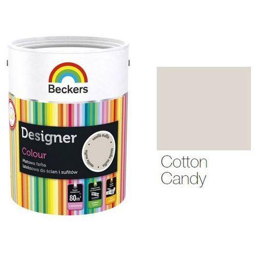 designer colour- farba lateksowa, cotton candy, 2.5 l marki Beckers