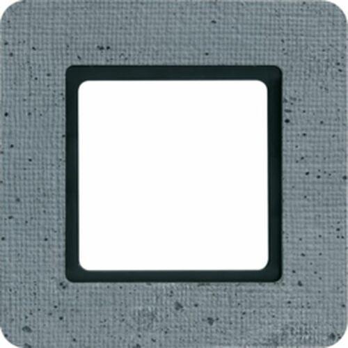 Hager polo sp. z o.o. Q.7 ramka 1-krotna do modułu podświetlenia led, beton 10116120 (4011334502364)