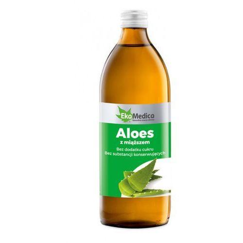 Ekamedica Aloes z miąższem sok 99,8% em 0,5l