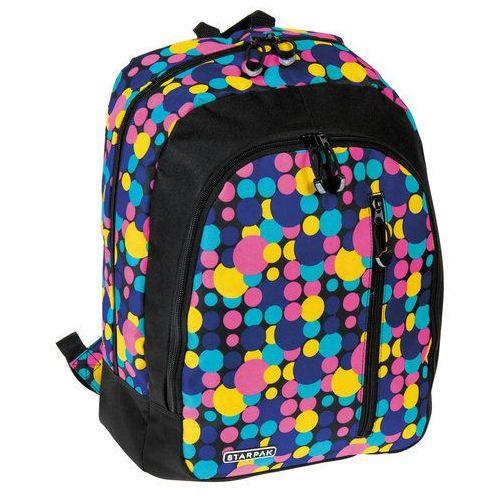 Starpak Plecak szkolny Paint w kolorowe kropki - 348769 Darmowy odbiór w 21 miastach!, 348769
