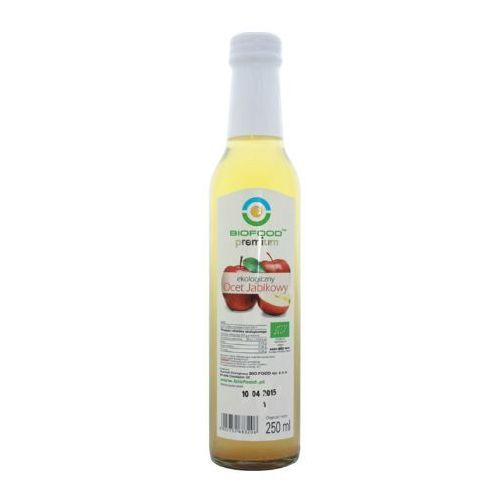 Ocet jabłkowy BIO (Bio Food) 250ml, BF
