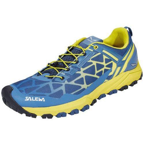 multi track buty mężczyźni żółty/niebieski 8,5 | 42,5 2017 buty turystyczne marki Salewa