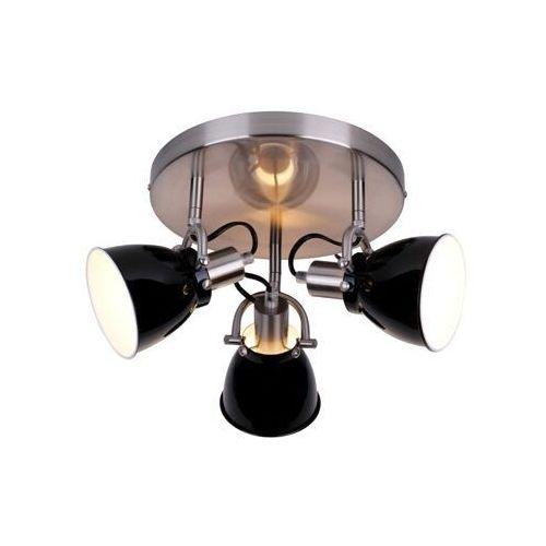 Plafon Zuma Line Pictor RLX94023-3B lampa oprawa sufitowa 3x40W E14 chrom/czarny >>> RABATUJEMY do 20% KAŻDE zamówienie!!!, kolor szara