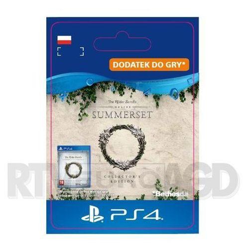 Sony The elder scrolls online: summerset collector's ed. upgrade [kod aktywacyjny]