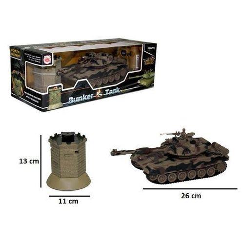 Czołg z bunkrem RC z ładowarką - Brimarex. DARMOWA DOSTAWA DO KIOSKU RUCHU OD 24,99ZŁ (5907791577597)
