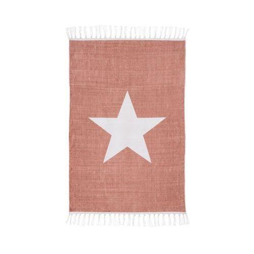 Dywan bawełniany STAR różowy 60 x 90 cm INSPIRE (3276000630845)