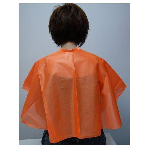 Pelerynka fryzjerska lofty krótka - pomarańczowa marki Prospector