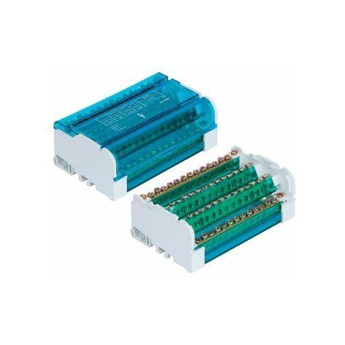 blok rozdzielczy listwa łączeniowa mocowana na szyne th35 4x15 125a/500v e.4088 marki Pawbol
