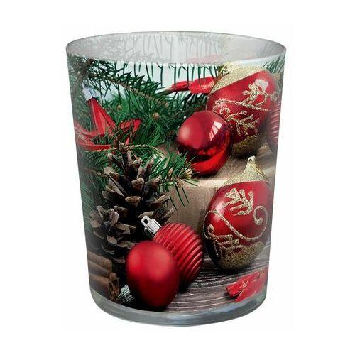 Świeca zapachowa w szkle holiday time cynamon marki Paw decor