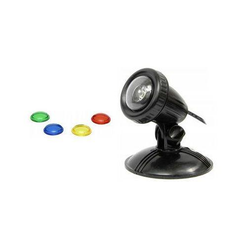 wodoodporna lampa led 1x1w 12v szkiełka kolorowe - darmowa dostawa od 95 zł! marki Aqua nova