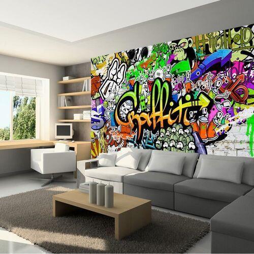Fototapeta - graffiti na ścianie marki Artgeist