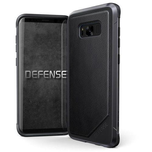 X-Doria Defense Lux - Etui aluminiowe Samsung Galaxy S8+ (Black Leather) - Szybka wysyłka - 100% Zadowolenia. Sprawdź już dziś!, kolor czarny
