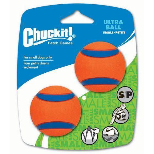 Chuckit! Ultra Ball S piłki dla psa - S: Ø 5,1 cm, 2 szt.| DARMOWA Dostawa od 89 zł + Promocje od zooplus!| -5% Rabat dla nowych klientów