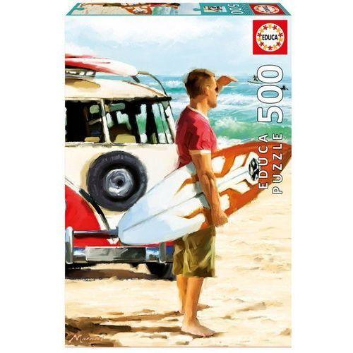 Puzzle 500 elementów surfer - darmowa dostawa od 199 zł!!! marki Educa