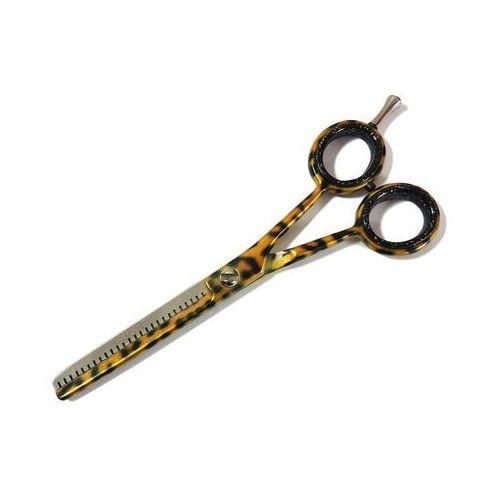 Degażówki nożyczki fryzjerskie 5,5 enzo slim leopard d7-ee marki Enzo england
