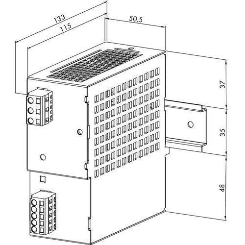 Zasilacz na szynę DIN WAGO 787-692, 30,5 V/DC (SELV), 3 A, 91.5 W, 787-692