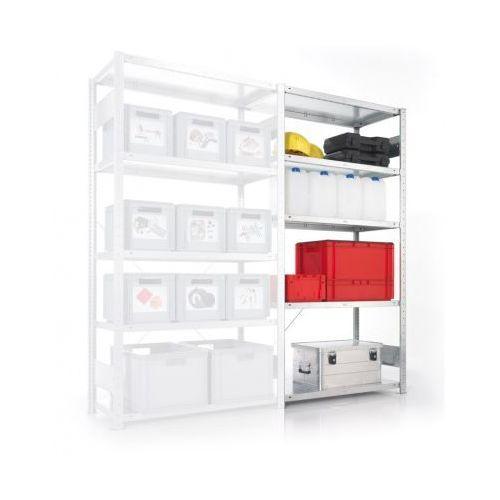 Regał półkowy CLIP, 230 kg, 2000x1000x600 mm, dodatkowy