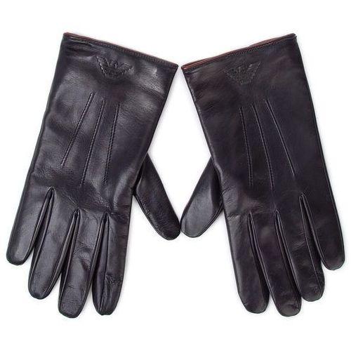 Rękawiczki męskie - 624515 9a241 00035 blu navy marki Emporio armani