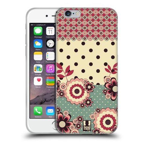 Etui silikonowe na telefon - Floral Dots PINK CREAM