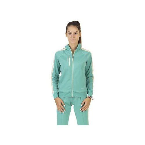 Bluza w ess track jkt z68493 - zielony ||turkusowy marki Reebok