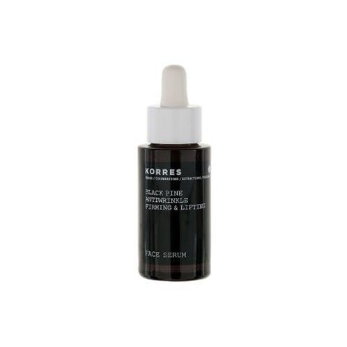 Korres Black Pine Anti-Wrinkle and Firming Face Serum Bottle and Dropper (30ml) (5203069046797)