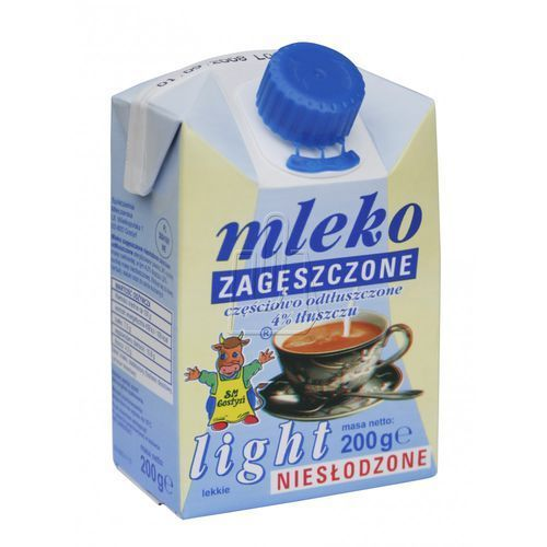 Mleko zagęszczone Gostyń light 4% 200g, BP802688