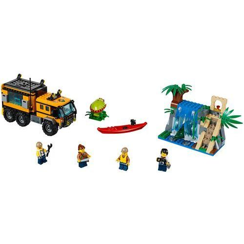 Lego CITY Mobilne laboratorium jungle mobile lab 60160