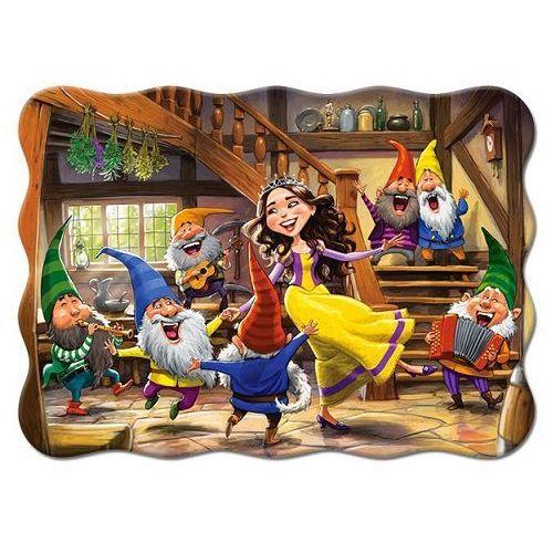 1-003754 Puzzle Królewna Śnieżka i Krasnoludki - PUZZLE DLA DZIECI