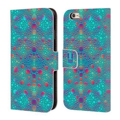 Etui portfel na telefon - Chameleon Skin Patterns BLUE, kolor niebieski