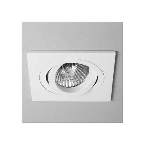 Astro Oczko lampa sufitowa taro adjustable 5642  metalowa oprawa wpust kwadratowy biały