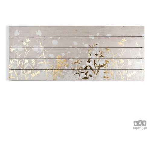 Obraz na drewnie Złota łąka 104588