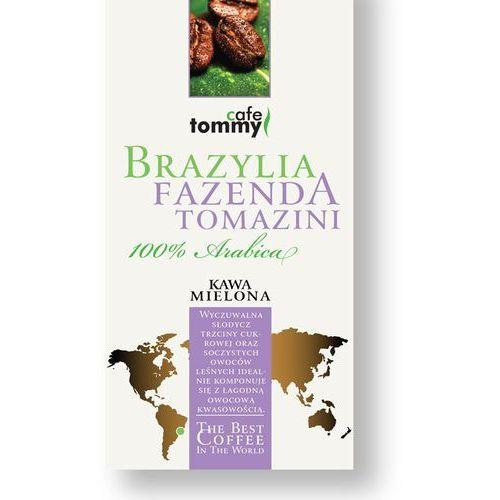 Tommy cafe Kawa brazylia fazenda tomazini mielona