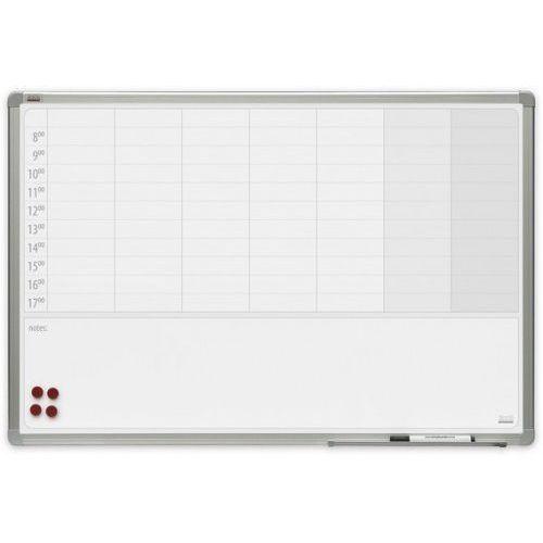 2x3 Planer tygodniowy magnetyczny officeboard 90x60cm + pole notatek
