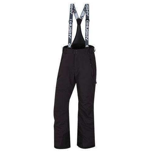 Husky spodnie narciarskie mithy m black xl (8592287101966)