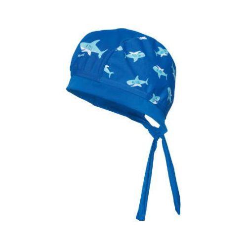 PLAYSHOES Boys Chustka na głowe Rekin kolor marine