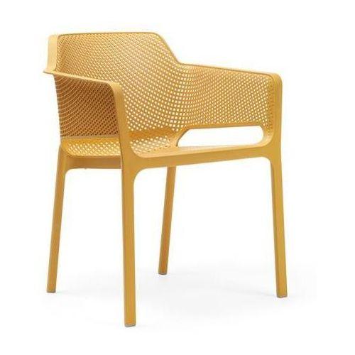 Nardi Krzesło net relax żółte (8010352327566)