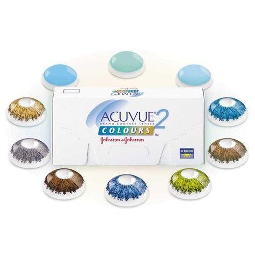 Acuvue 2 Colours Opaques™ 1 szt. (soczewki dla jasnych i ciemnych oczu)