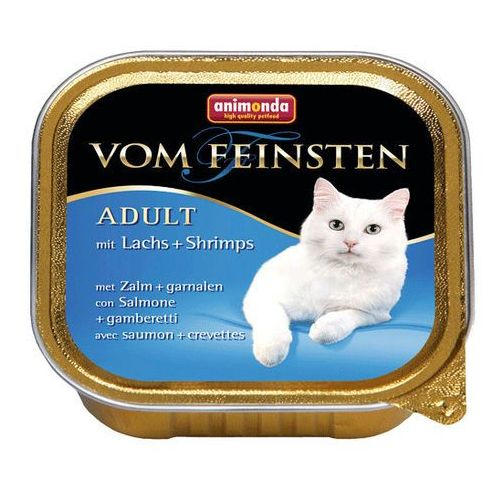 Animonda  vom feinsten cat adult łosoś z krewetkami 100g
