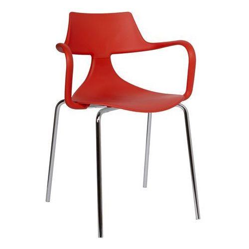 Krzesło Iron Shark Green czerwone