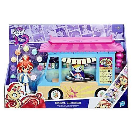 My little pony eg mini zestaw sushi truck sunset shimmer - marki Hasbro