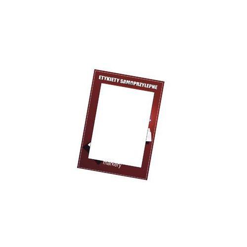 Etykiety samoprzylepne białe 210x297/1szt (100)