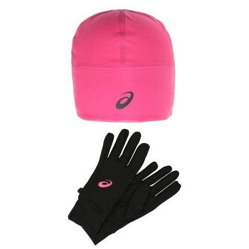 Asics performance set rękawiczki pięciopalcowe sport pink